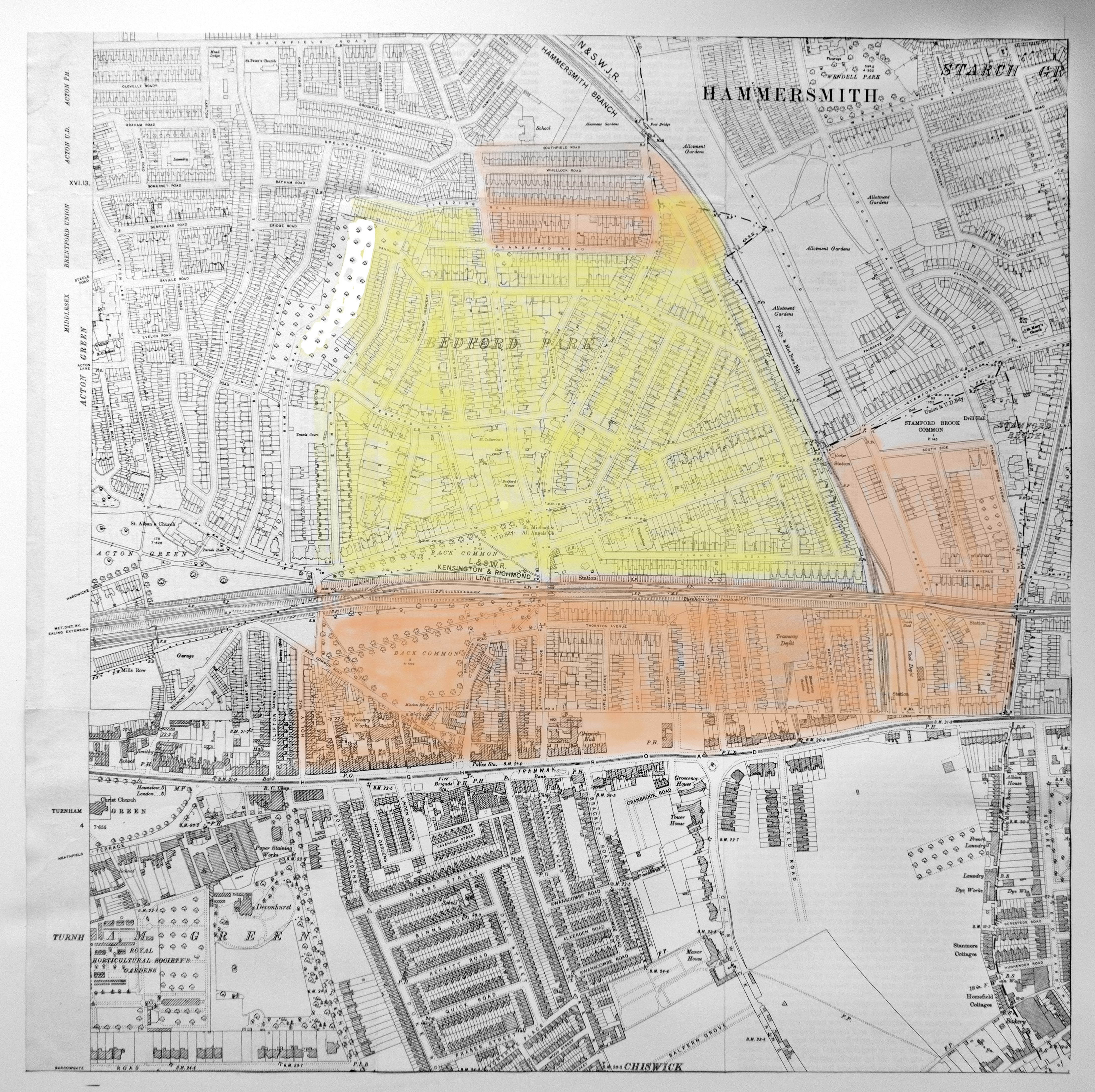 parish-map-and-bedford-park-estate-c-1914