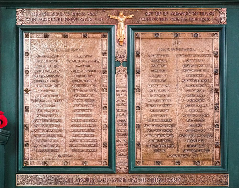Parish Memorial Rood