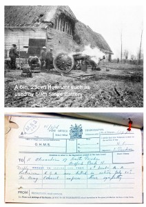 Howitzer picture and Telegram