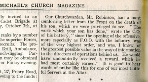 Parish Magazine Oct 1916