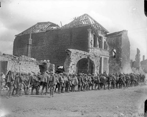 10 RF at Arras March 1917