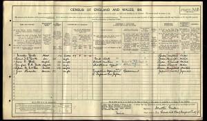 1911 Census-Yorke