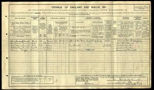 1911 Census.Gamble. 03