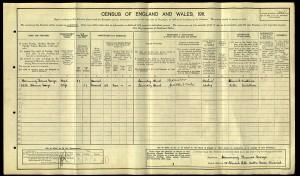 1911 Census GEORGE
