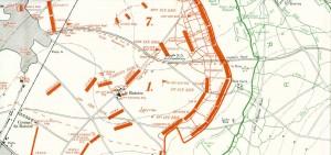 7th Division Loos 25.9.15 map