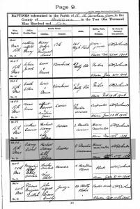 Baptisms 1906.LEEDER
