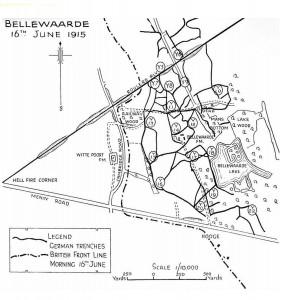 Bellwaarde Battlefield Map