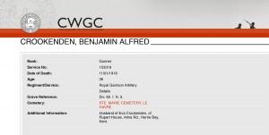 CWGC>Crookenden