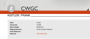 CWGC - Casualty Details-KISTLER-1