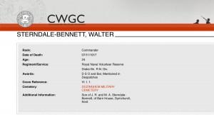 CWGC - Casualty Details - Bennett