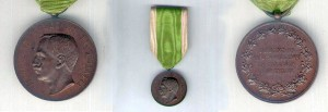 Calabrian Earthquake Medal