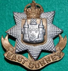 Cap Badge East Surrey