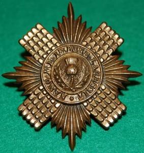 Cap Badge Scots Guards