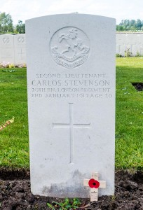 Carlos Stevenson grave