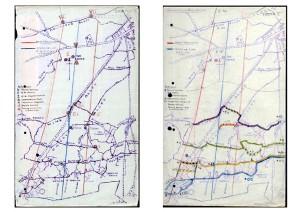 Caterpillar Wood and Barrage Assault maps. 7 Queens