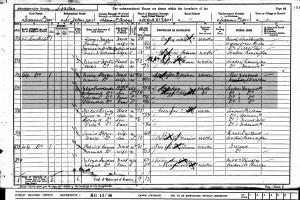 Census 1901.Crookenden