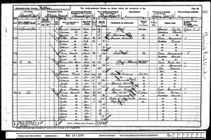 Census 1901.Dowsett