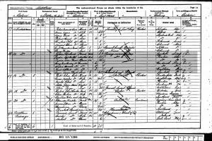 Census 1901.Rowe