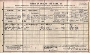 Census 1911.Adams ET