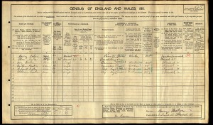 Census 1911.Barker R