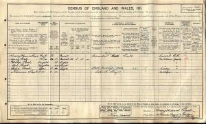 Census 1911.Bond