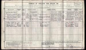 Census 1911.Carr