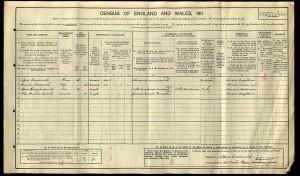 Census 1911.Coatsworth