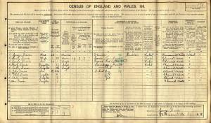 Census 1911.Davies
