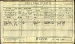 Census 1911.Dowsett