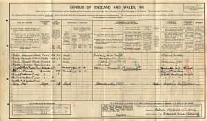 Census 1911.Flood
