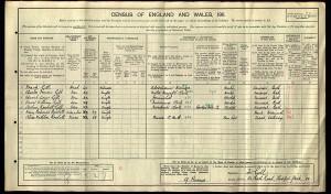 Census 1911.GILL