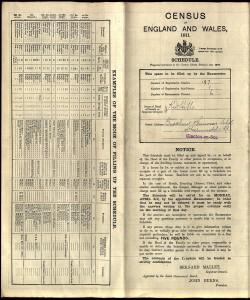 Census 1911.Gowar.01