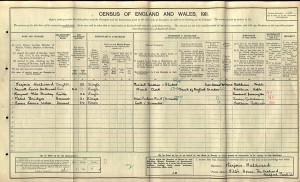 Census 1911.Hallward