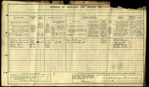 Census 1911.Hammond