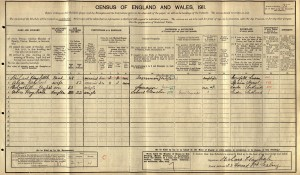 Census 1911.Haybittle