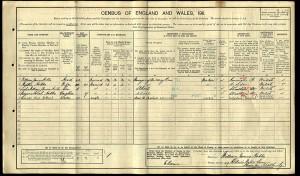 Census 1911.Holland AC