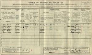 Census 1911.Kistler