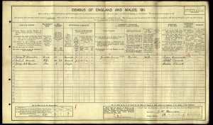 Census 1911.Maunder