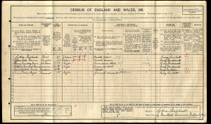 Census 1911.Rowe