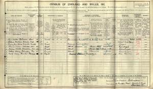 Census 1911.Schwaben CW