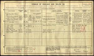 Census 1911.Wilson C