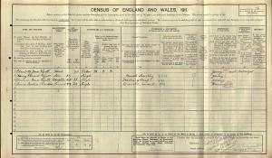 Census 1911.Wyatt