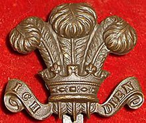 Civil Service Rifles badge