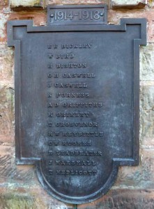 Codsall War Memorial