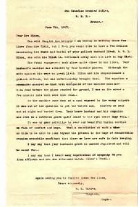 Condolence letter.Nixon