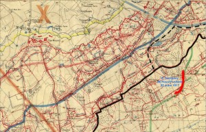 D Coy 26 RF 22.6.17 Trench Map.b