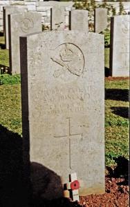 Dunckley Grave Jerusalem