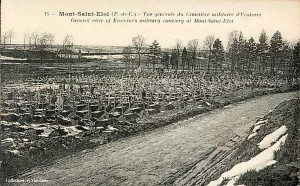 Ecoivres cemetery about 1920