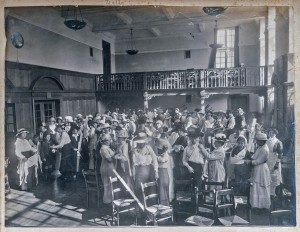 First Aid Class Bedford College 1914.Violet Long