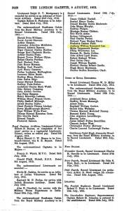 Gazette Lax LG 1912